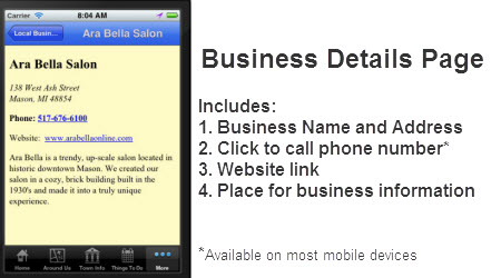 Business Information Tab
